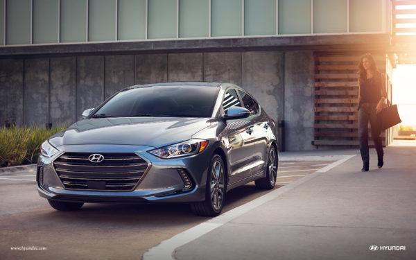 Grey 2017 Hyundai Elantra
