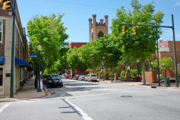 New Bern, NC 's historic downtown